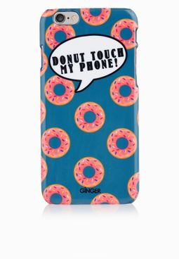 Ginger iPhone 6 Donut Touch My Phone Cover
