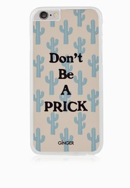 Ginger iPhone 6 Don't Be A Prick Cover