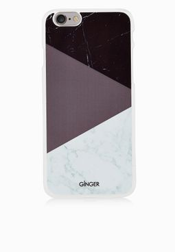 Ginger iPhone 6 Marble Print Cover